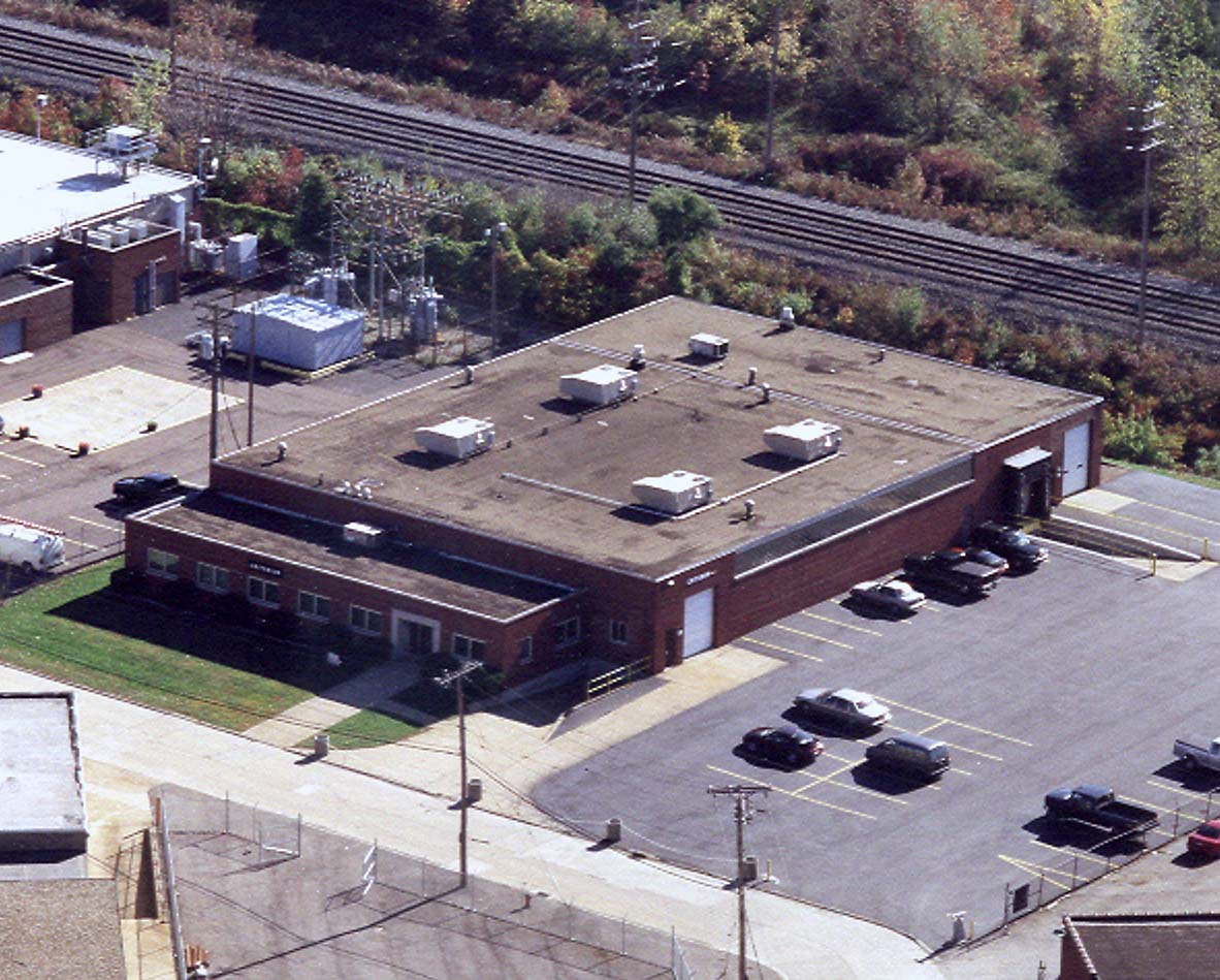 Aerial shot of Criterion on 161st Street in Brook Park, Ohio since 1995.